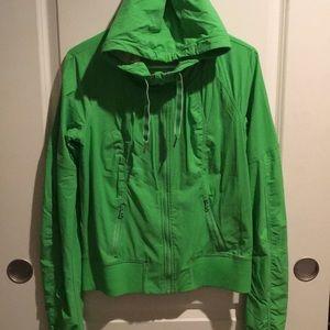 Lulu Lemon Green Running Jacket
